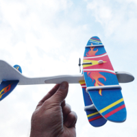 DIY Electric BiPlane Glider Assorted