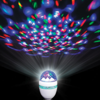 Disco LED Party Bulb 6″ x 3″ diameter 3 watts